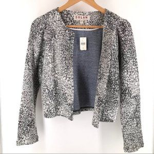 Anthropologie Dolan Cropped Marled Cardigan